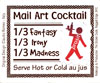 Mail art cocktail (prosit edition)