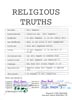 Religious Truths