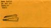 Stab heart 3 1/2 envelope