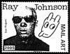 Ray Johnson artistamp 3