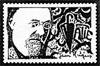 Erik Satie artistamp 1