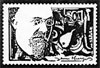 Erik Satie artistamp 2
