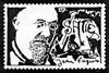 Erik Satie artistamp 3