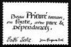 Erik Satie artistamp 4