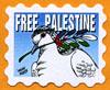 Free Palestine stamp