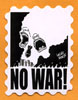 No war! stamp