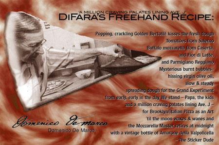 DiFara Pizzeria postcard
