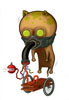 Ectoplasm eater postcard