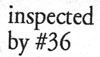 Inspected by #36